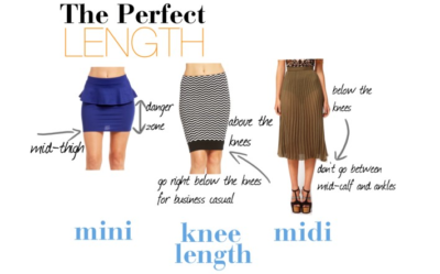 The perfect length skirt