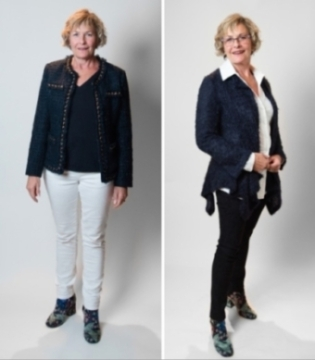 Image Consultant stylist Shelley golden Silicon Valley expert Before and after