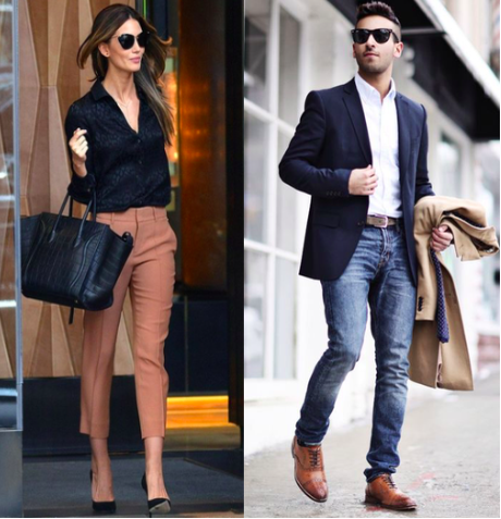 dressing and Looking the part