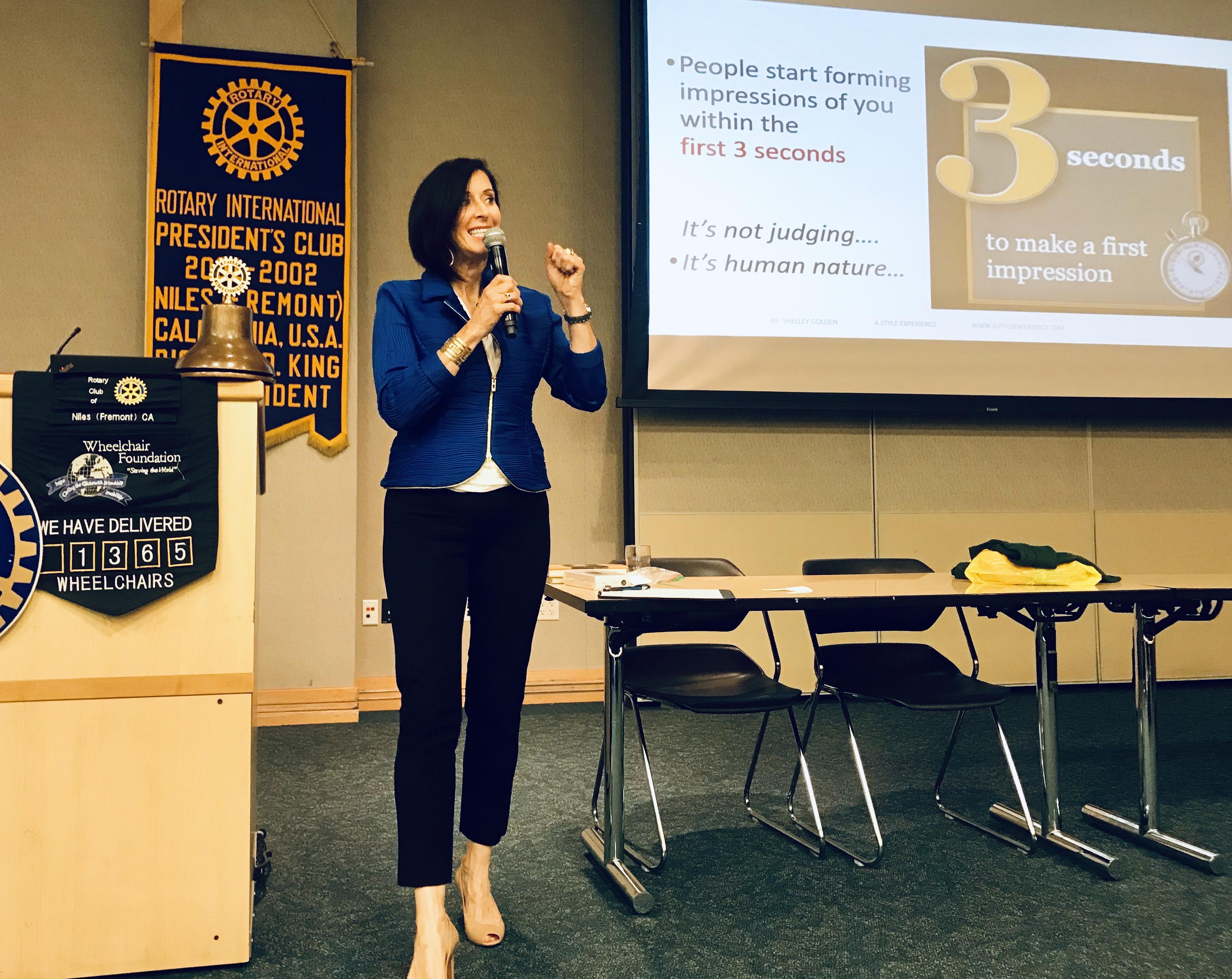 Presentation Niles Rotary