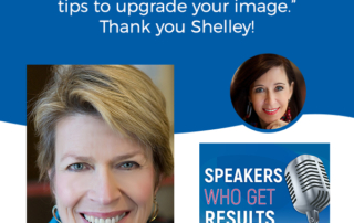 Improve your video presence interview with Shelley Golden and Elizabeth Bachman