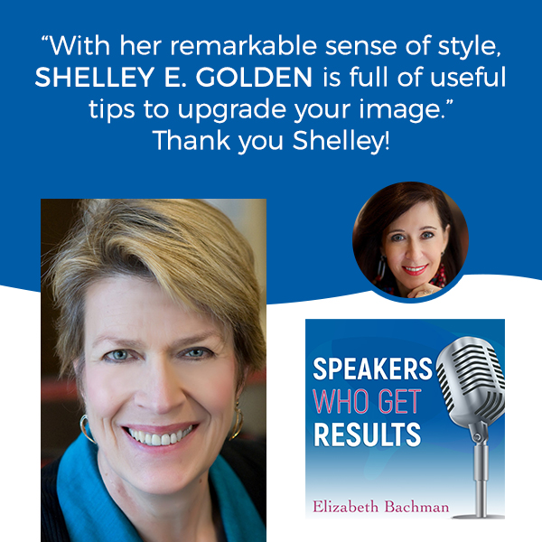 Interview with Shelley Golden and Elizabeth Bachman - Improving your video presence - look your best on zoom