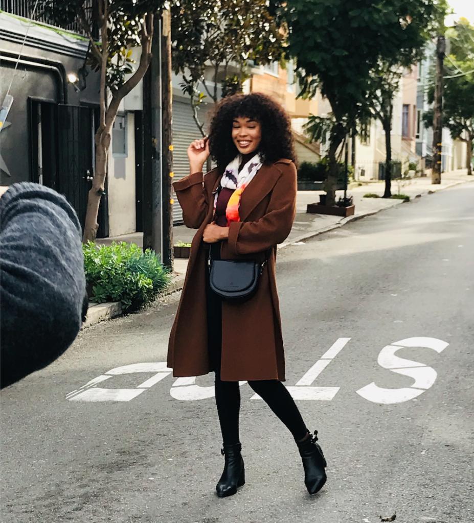 Fashion stylist for photo shoot San Francisco
