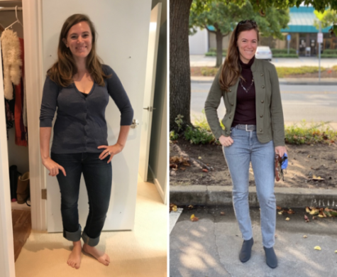 Stylist Shelley Golden San Francisco before and after