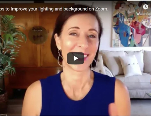 12 Tips to Improve your Lighting and Background on Zoom