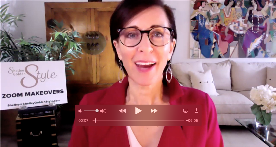 Shelley Golden Zoom Makeover Expert to Increase engagement online
