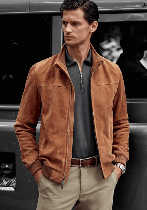 Shelley golden J. Hilburn mens customers clothing San Francisco
