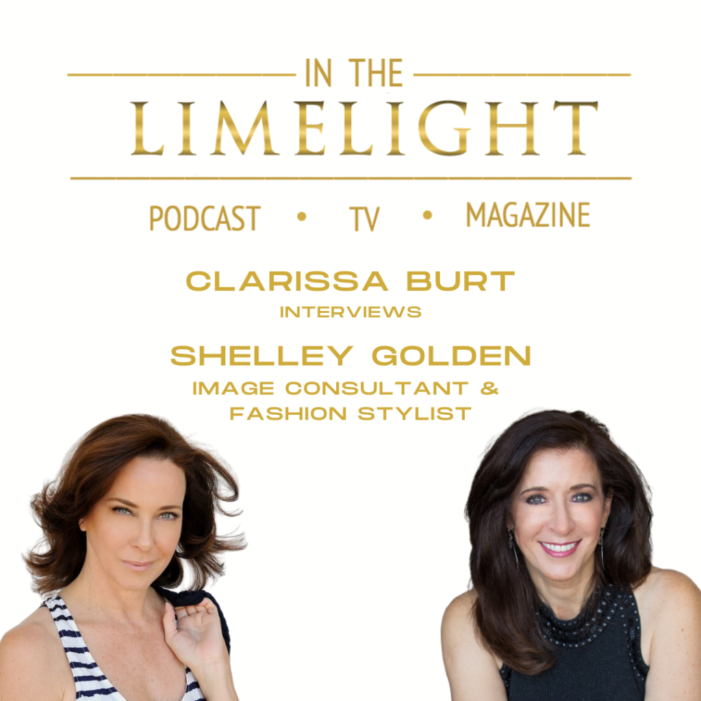 Podcast interview with Clarissa Burt of In the Limelight Media